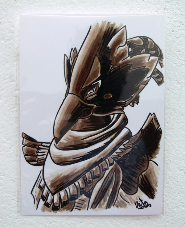 dibujo original revali de natadpb ilustración